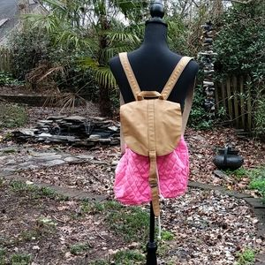 Urban outfitters pink quilted bag!